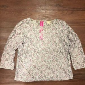 Lily White by Nordstrom (BP) Lace Blouse